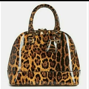 Handbags - Leopard print bag